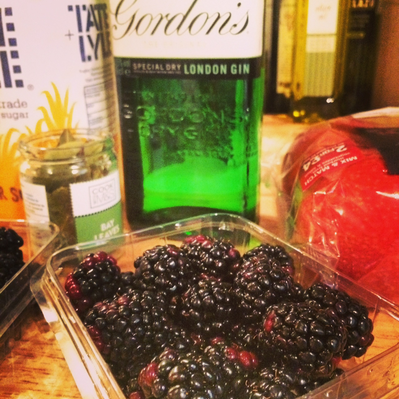 Apple and Blackberry Homemade Gin 7