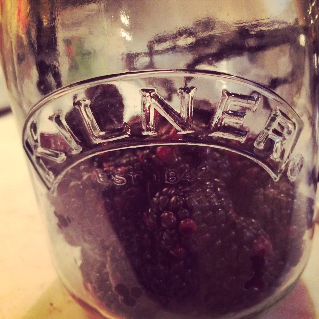 Apple and Blackberry Homemade Gin 9